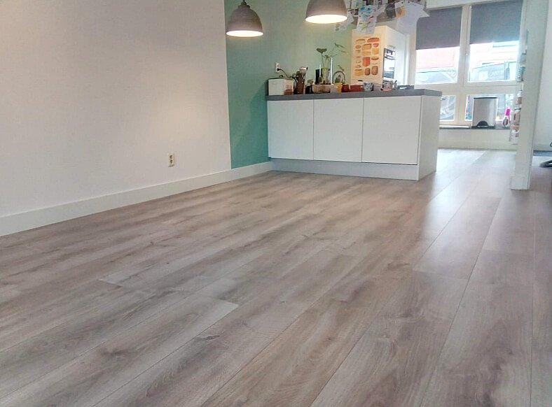 Floer landhuis laminaat vloer natuur eiken houten laminaatvloer